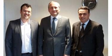 TEKSİAD Başkanı İstanbul Kalkınma Ajansı'nda